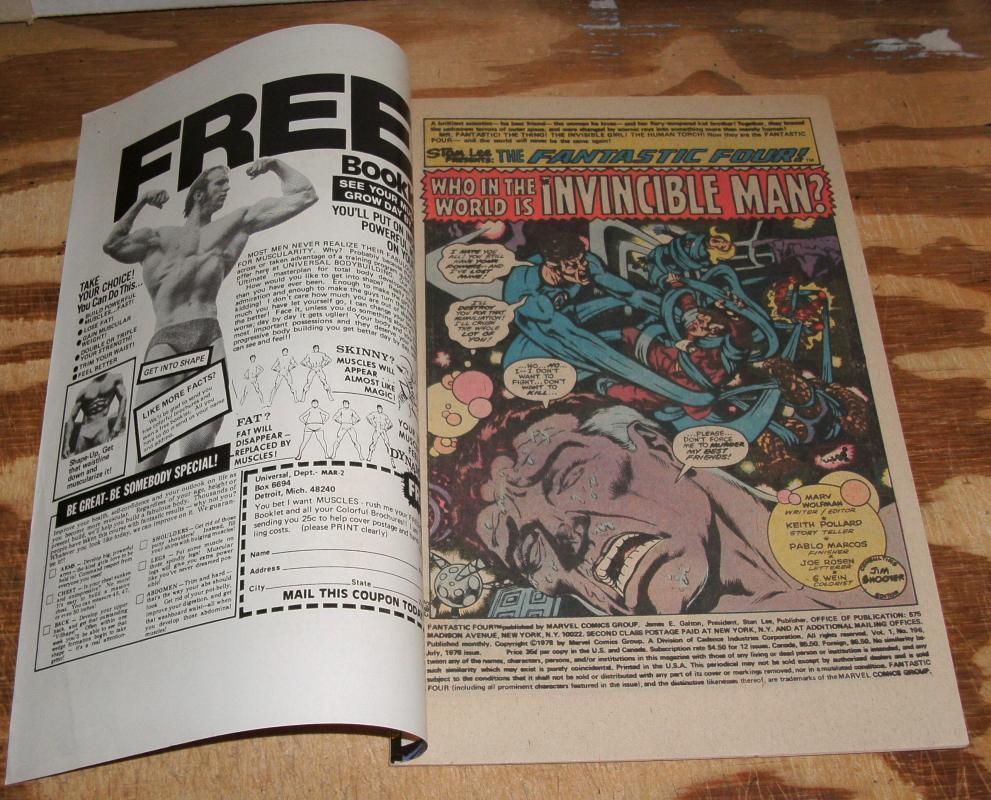 Fantastic Four #196 near mint 9.4