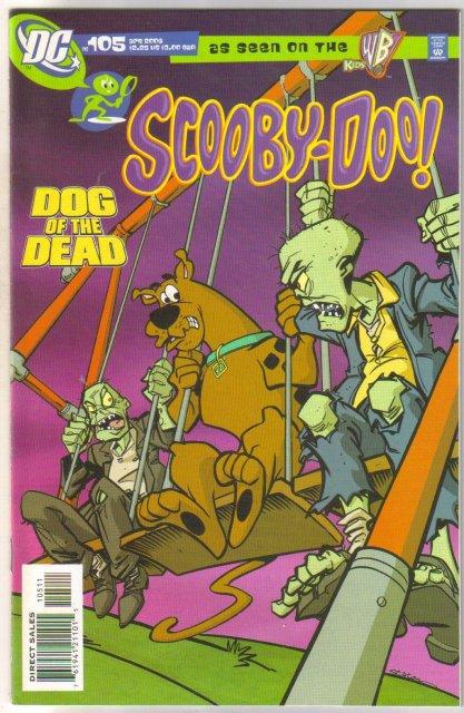Scooby-Doo #105 comic book very fine/near mint 9.0