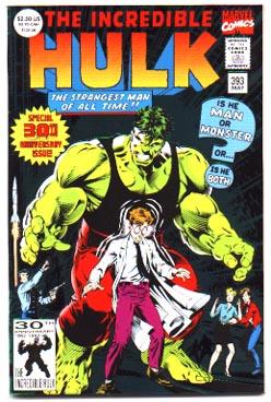 Incredilble Hulk comic #393