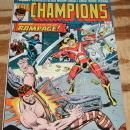 The Champions #5 very fine/near mint 9.0