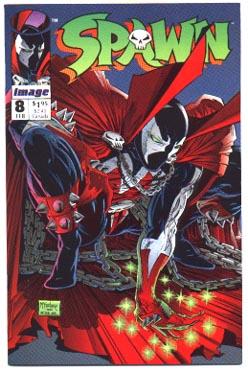 mint Spawn comic  #8