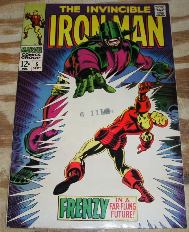 Iron Man #5 vf 8.0