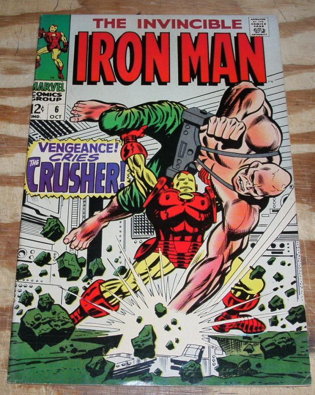 Iron Man #6 vf/nm 9.0