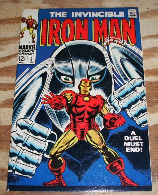 Iron Man #8 nm 9.4