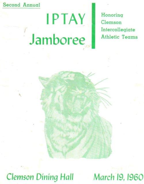 IPTAY Jamboree 1960 program