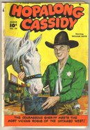 Hopalong Cassidy #29 comic book very good 4.0