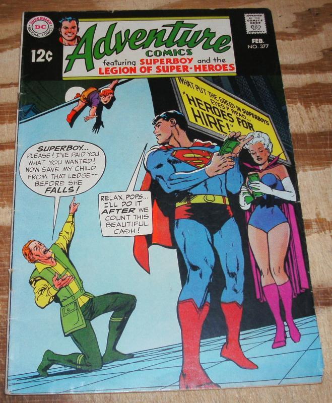 Adventure Comics #377 fine 6.0