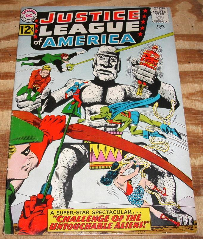 Justice League of America #15 comic book vf 8.0