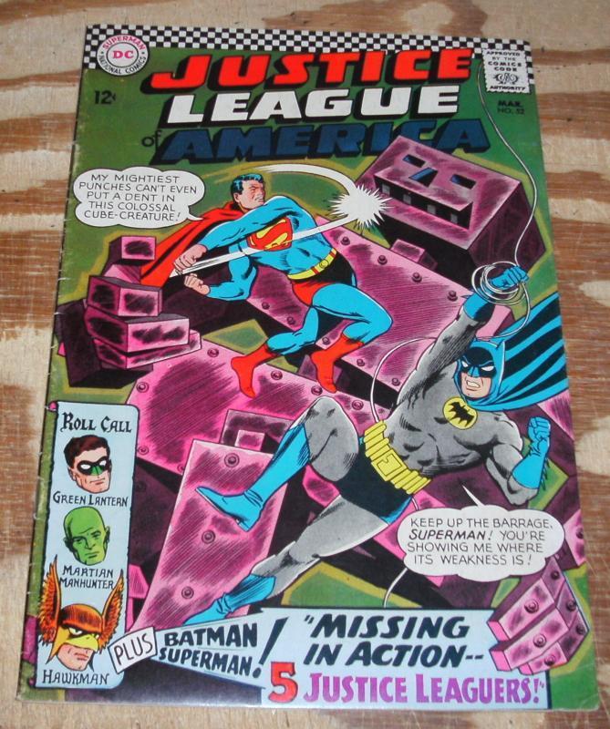 Justice League of America #52 fine/very fine 7.0
