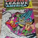 Justice League of America #68 comic book vf+ 8.5