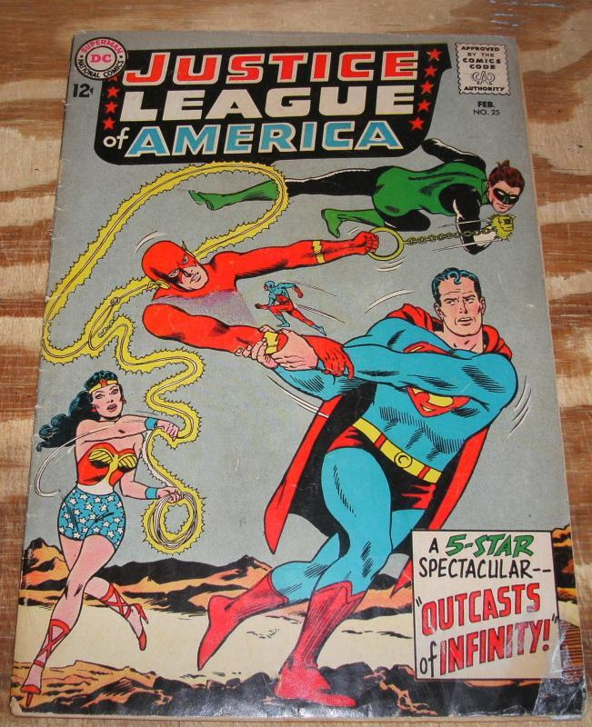 Justice League of America #25 very good 4.0