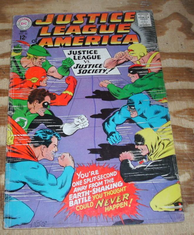 Justice League of America #56 vg/fn 5.0