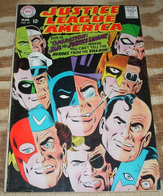 Justice League of America #61 vg/fn 5.0