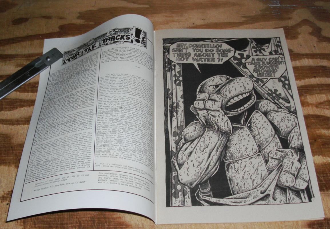 Donatello Teenage Mutant Ninja Turtle #1 nm/m 9.8