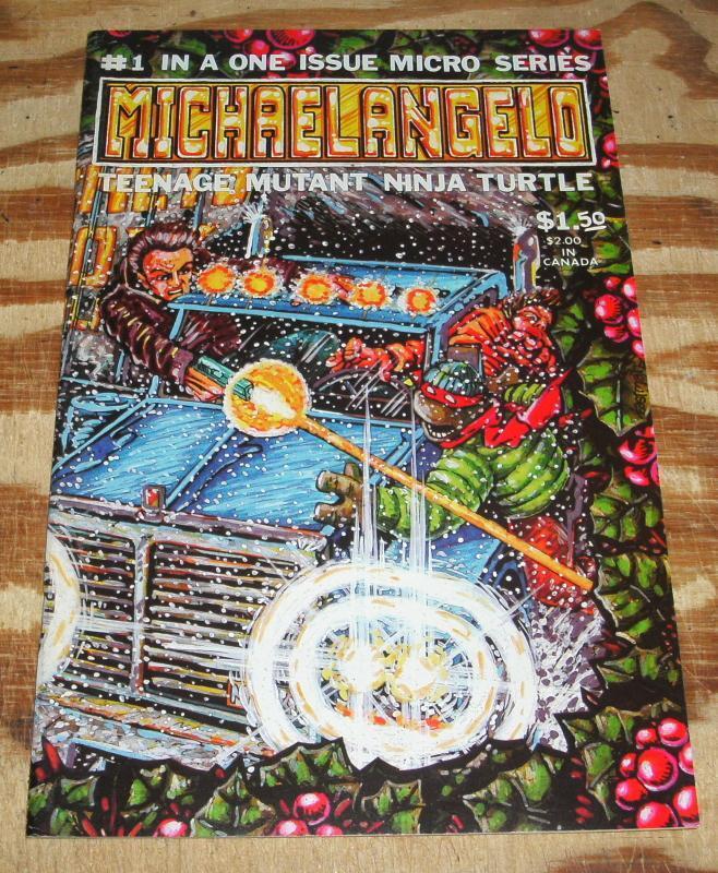 Michaelangelo #1 near mint plus 9.6