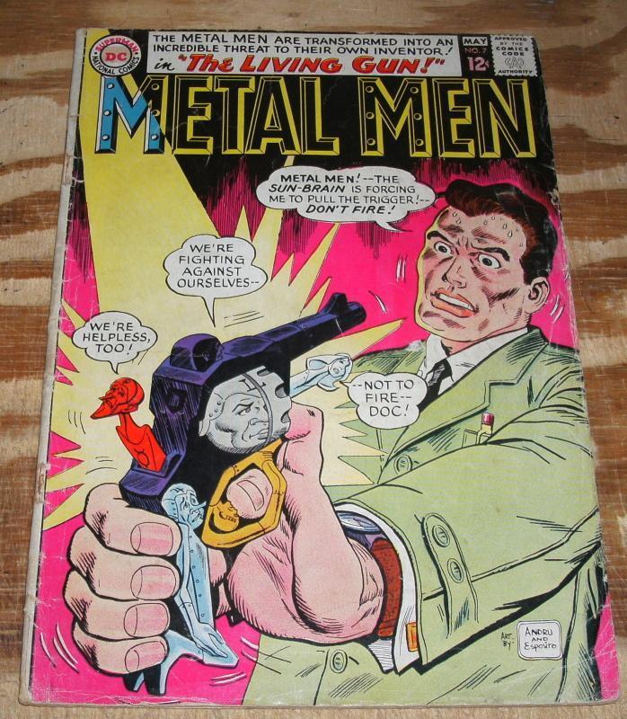 Metal Men #7 comic book good/very good 3.0