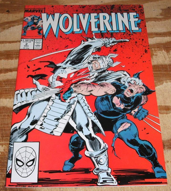 nm/m Wolverine #2 regular series