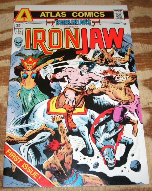IronJaw  #1  near mint 9.4