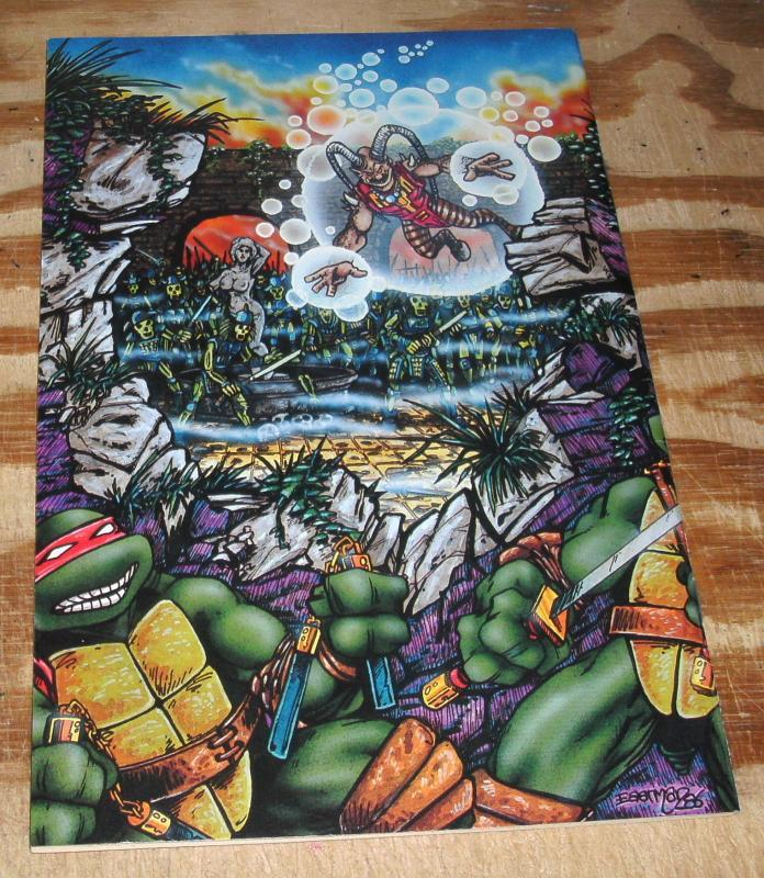 Teenage Mutant Ninja Turtles #8 first print nm/m 9.8