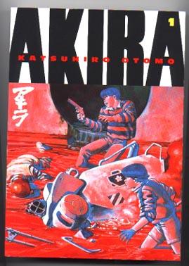 Akira comic graphic novels