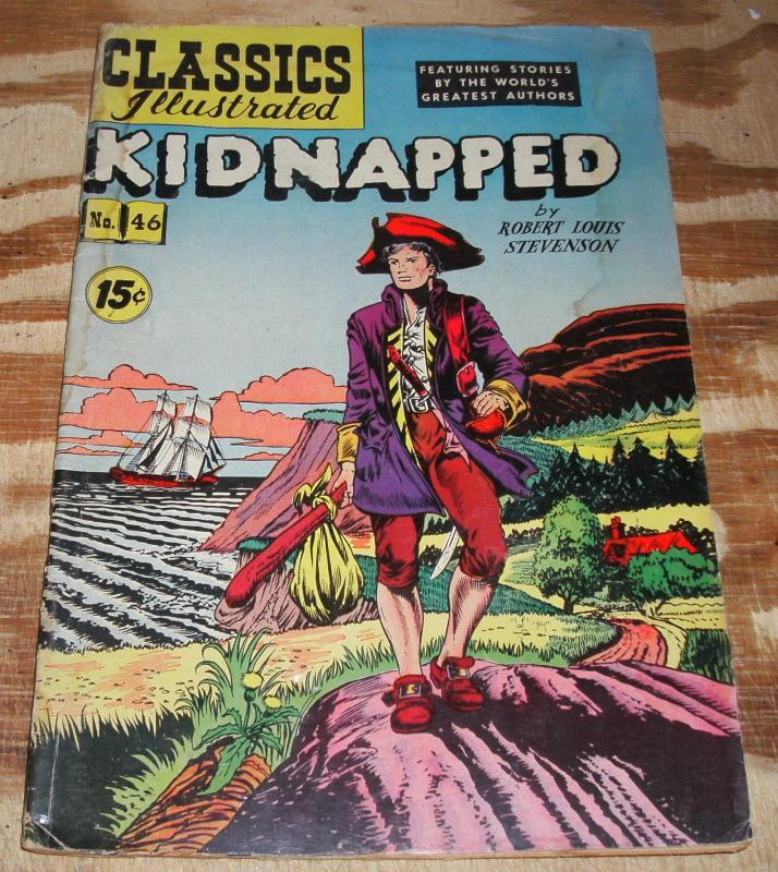 Classics Illustrated #46 HRN 118 vg 4.0