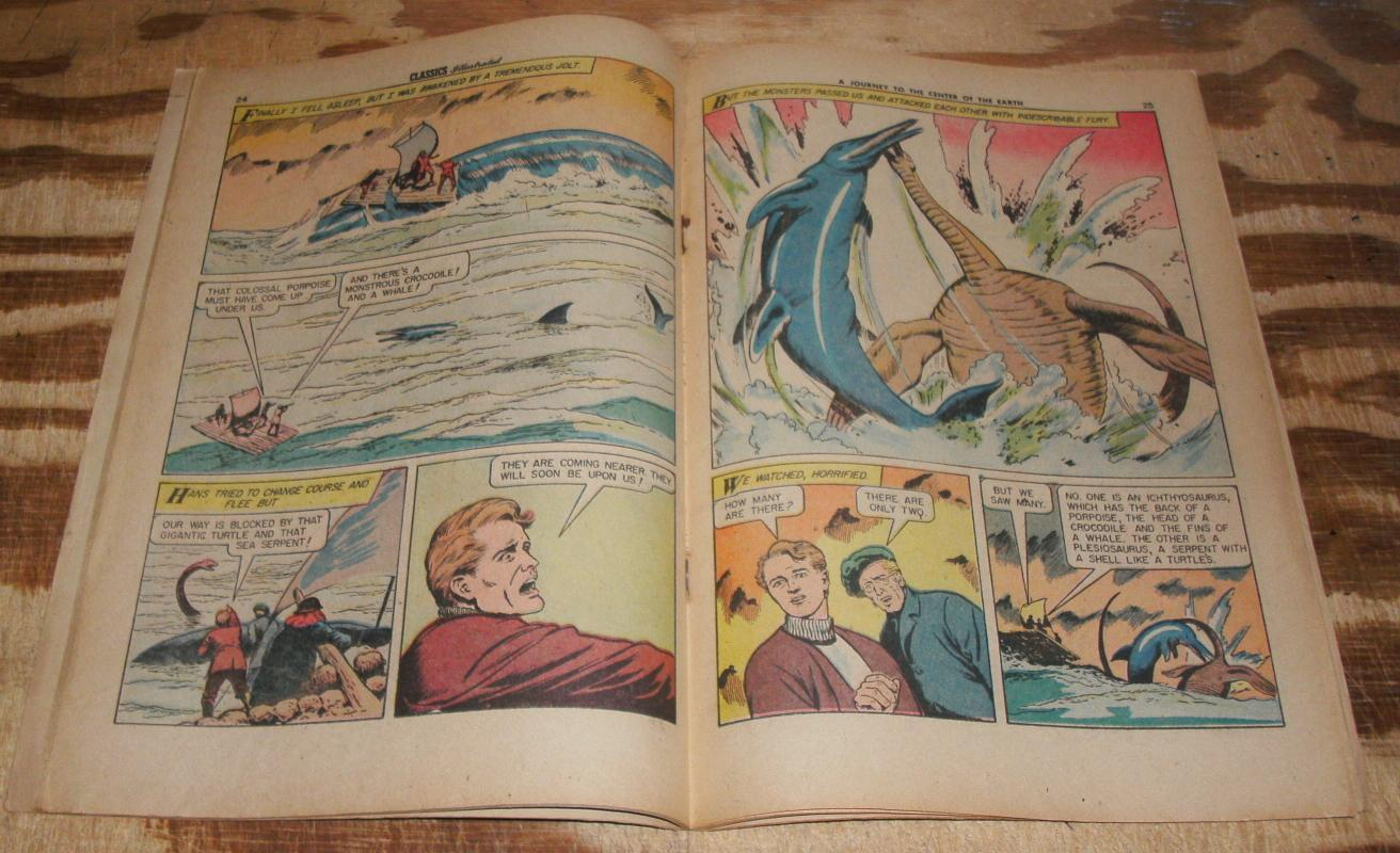Classics Illustrated #138 comic book HRN 136 fn+ 6.5