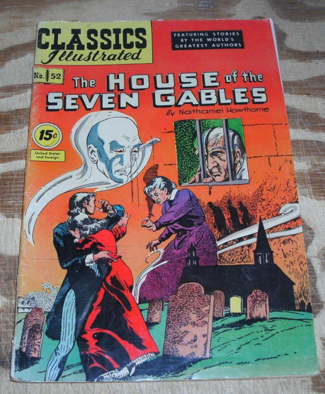 Classic Illustrated #52 hrn#89 vg/fn 5.0