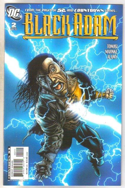 Black Adam #2 comic book near mint 9.4