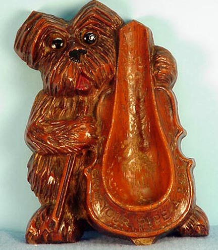 Lux Type Scotty Dog Smoking Pipe Holder