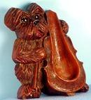Lux Type Scotty Dog Smoking Pipe Holder