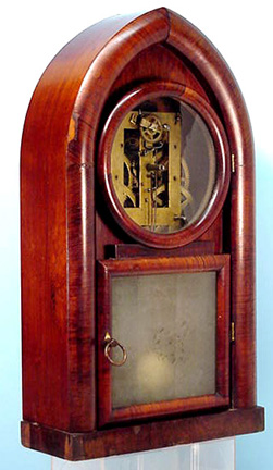 Brewster & Ingraham Beehive Shelf Clock