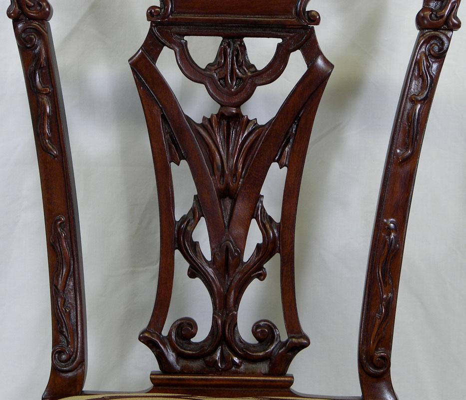 Chippendale Mahogany Chair