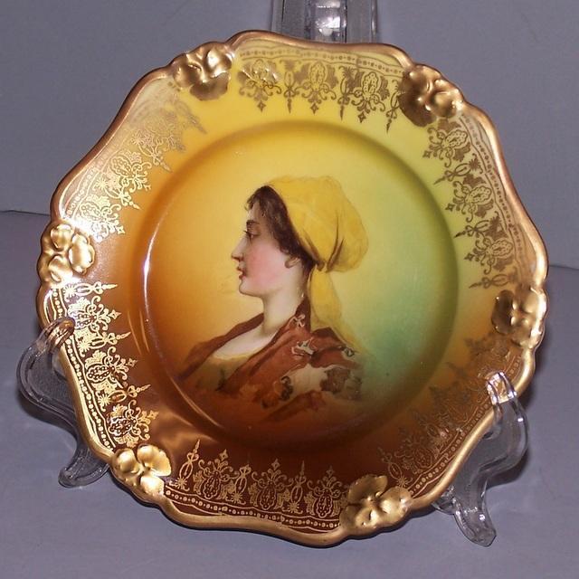 Vintage Portrait Plate Rosenthal China