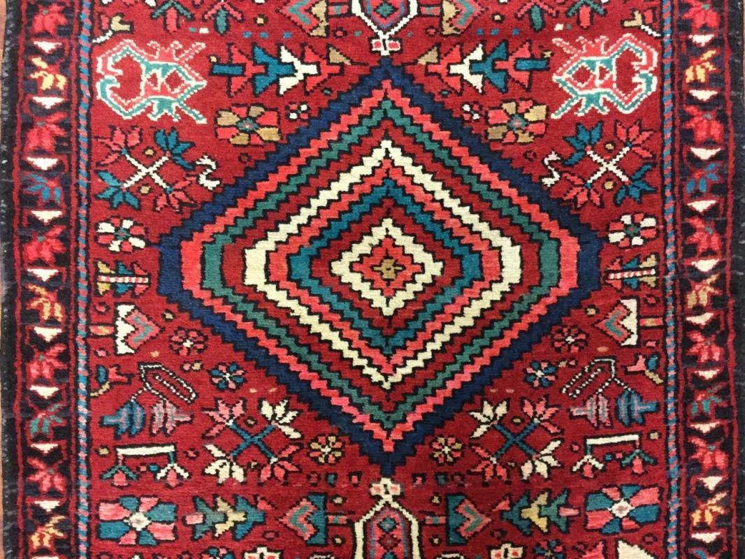Semi Antique Persian Karajeh Runner-4350