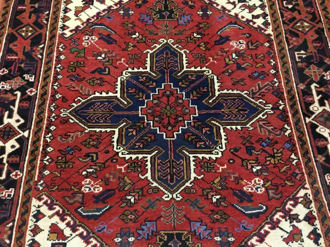 Semi Antique Persian Heriz Rug-