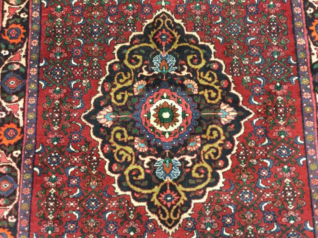 Older Persian Bidjar Rug-728