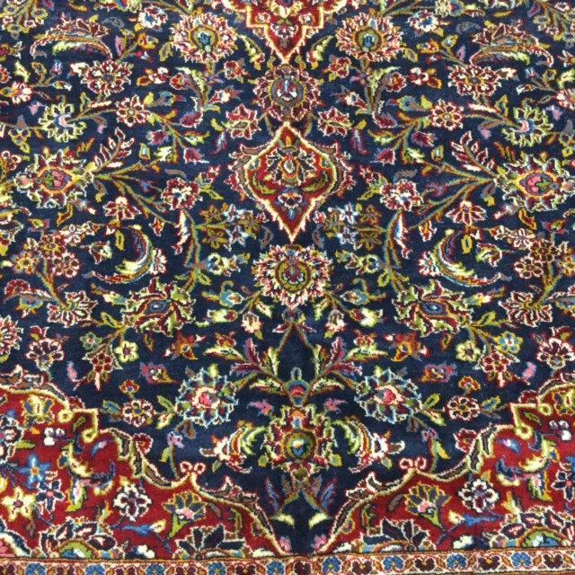 vintage  Persian Kashan Rug -2076