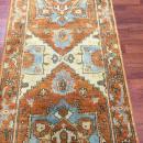 Vintage Indo Persian Heriz Runner-4293