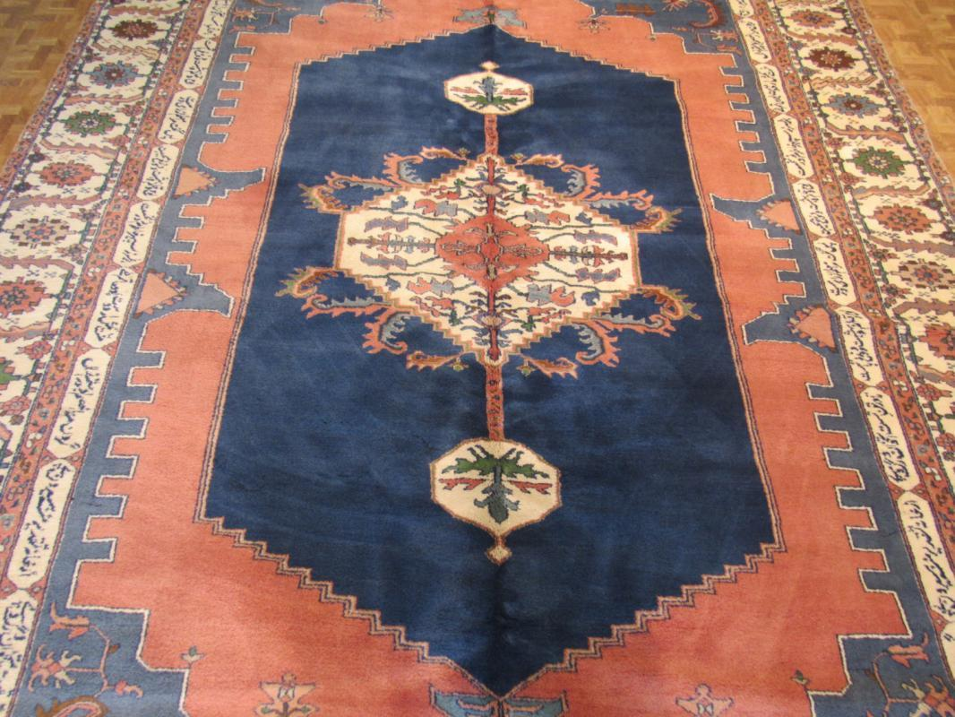 Vintage Unique Indo persian Serapi (Omar Khayyam) Rug