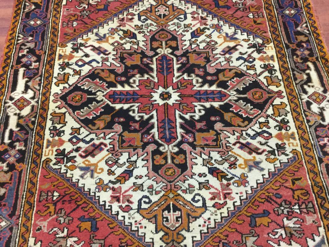 Semi antique Persian Heriz rug-4226
