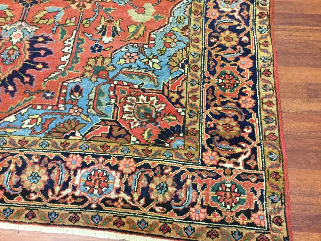 Antique persian Heriz-4390