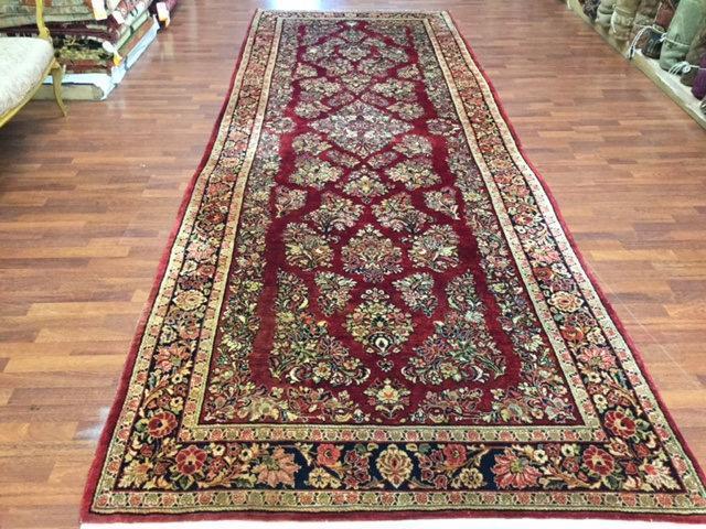 Antique Gallery Size Persian Sarouk Rug-4487