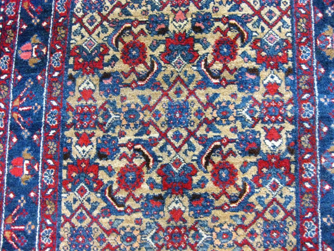 Antique Persian Northwest Runner -4335