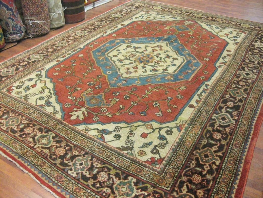 Antique Persian Mahal Rug- 1204