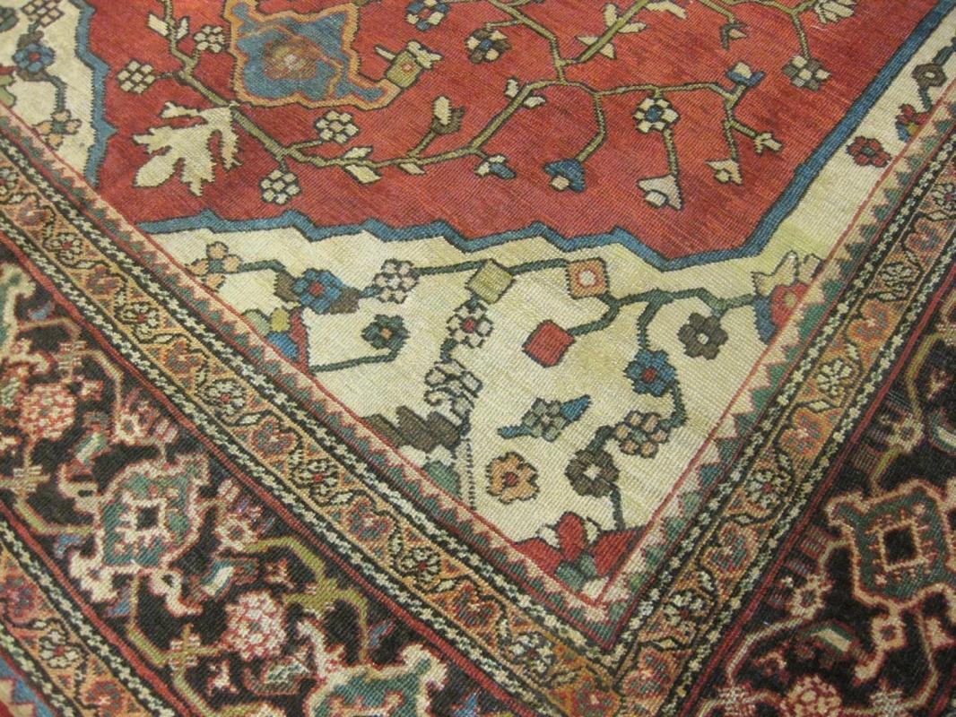 Antique Persian Mahal Rug- 1204