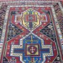 19th C Somakh  Facharlo Kazak Caucasian rug-3319