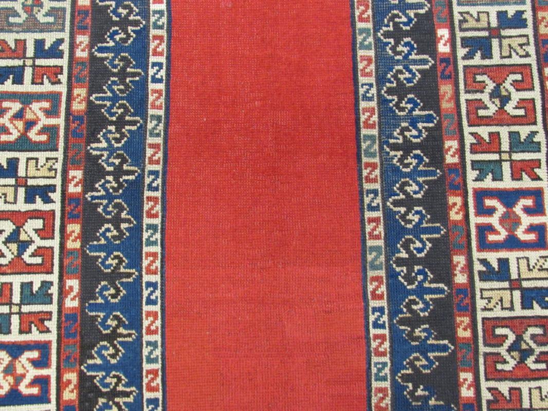 19th Century South Kazak Caucasian Rug  -4344