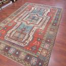 Antique Sevan Design Kazak Caucasian Rug-3769