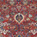 unique antique Persian Sarouk Rug-3497