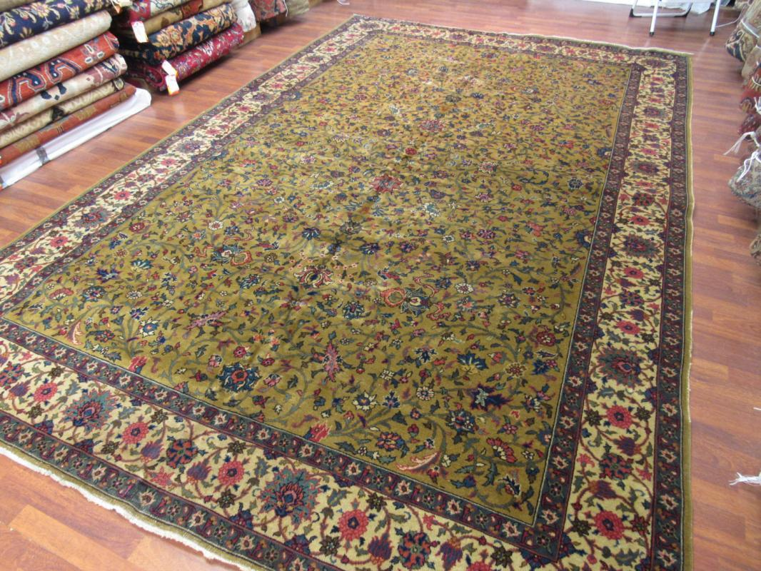 Antique Tabriz Design Rug-1837